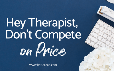 Don't Compete on Price: A Guide for Therapists, Coaches, and Service Providers on How to Explain Your Worth